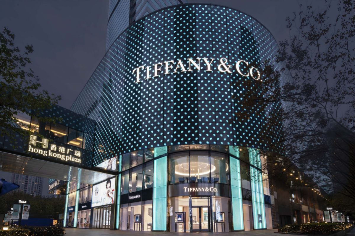 Tiffany & Co. Unveiled Redesigned Flagship Store at Shanghai Hong Kong Plaza