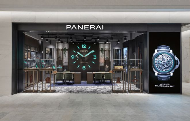 Officine Panerai Opened Its New Boutique In The Hyundai Seoul, Korea