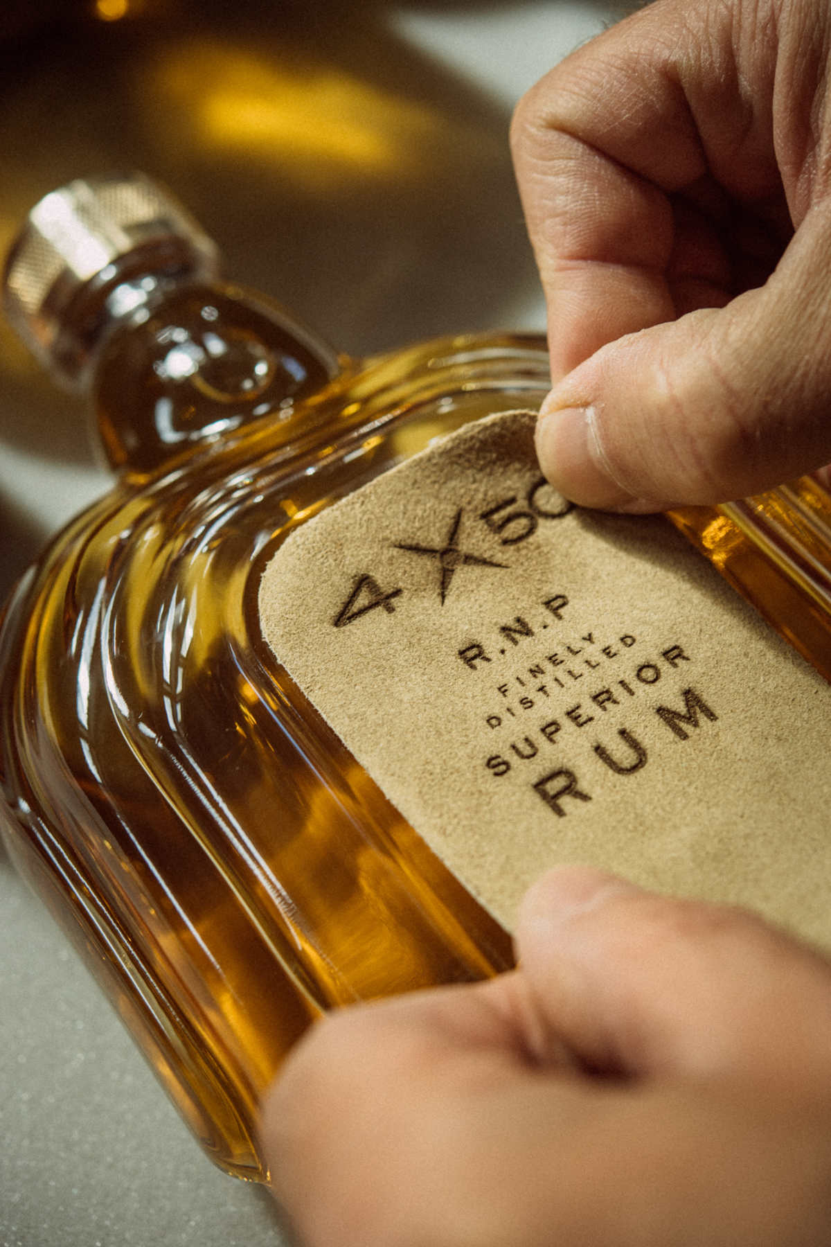 The World's First Social Rum - 4X50 R.N.P. Finely Distilled Superior Rum
