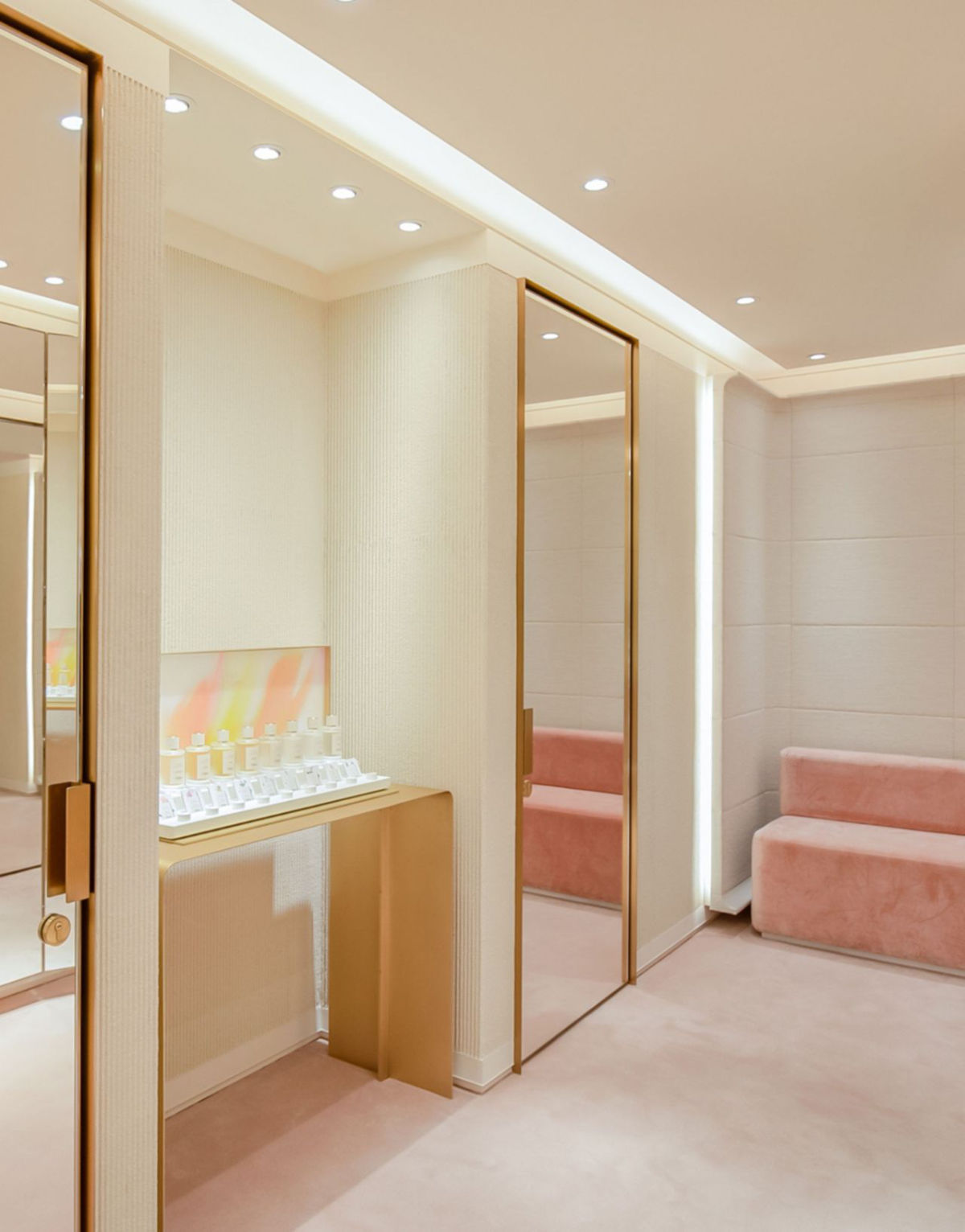 Latest Chloé boutique in the Taikoo Hui Guangzhou-Shopping Mall in China