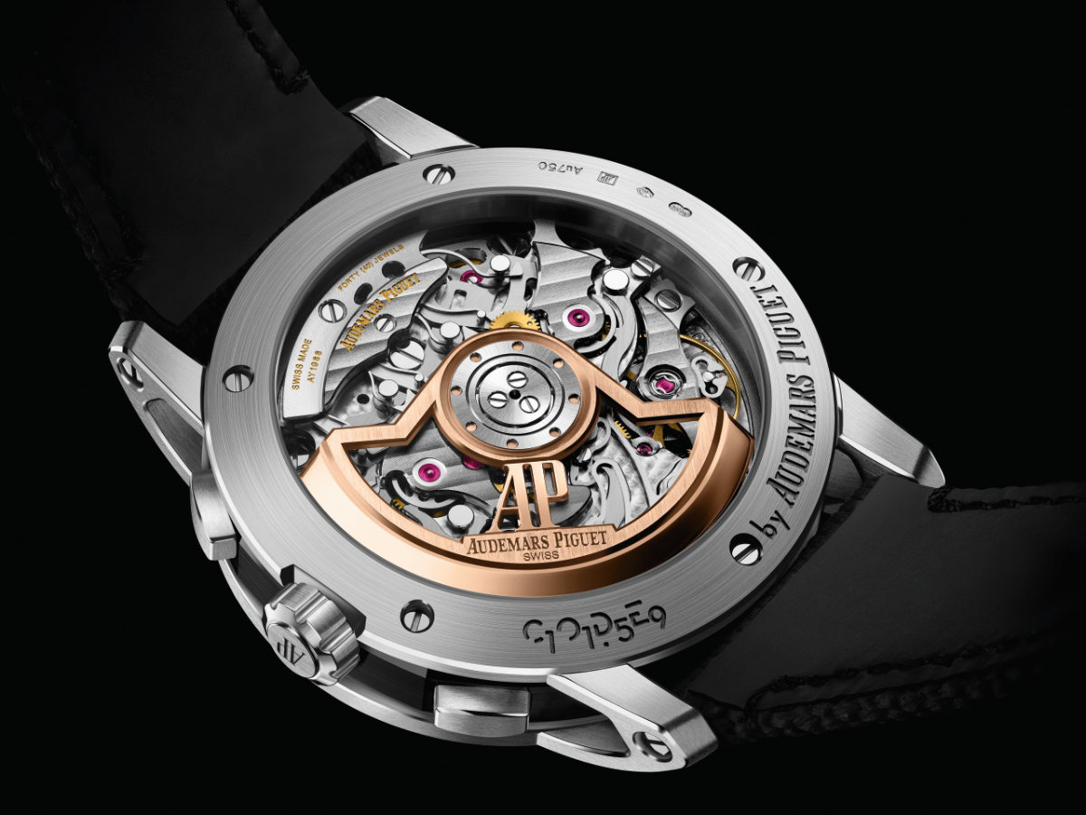 Inspiring Contrasts For The Code 11.59 By Audemars Piguet Selfwinding Chronograph