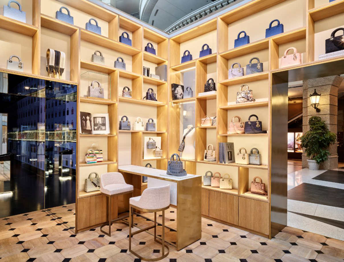 Dior Unveiled Its New Bella Pop-up Boutique In Taiwan