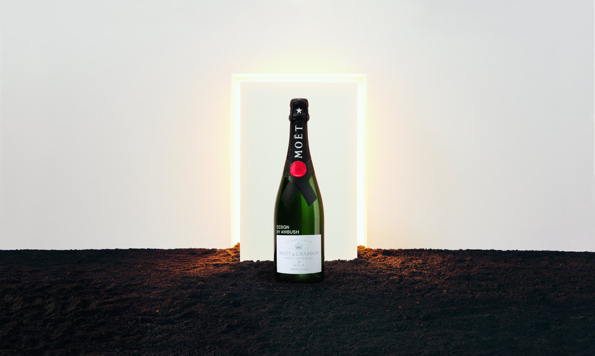 Moët & Chandon x AMBUSH partnership