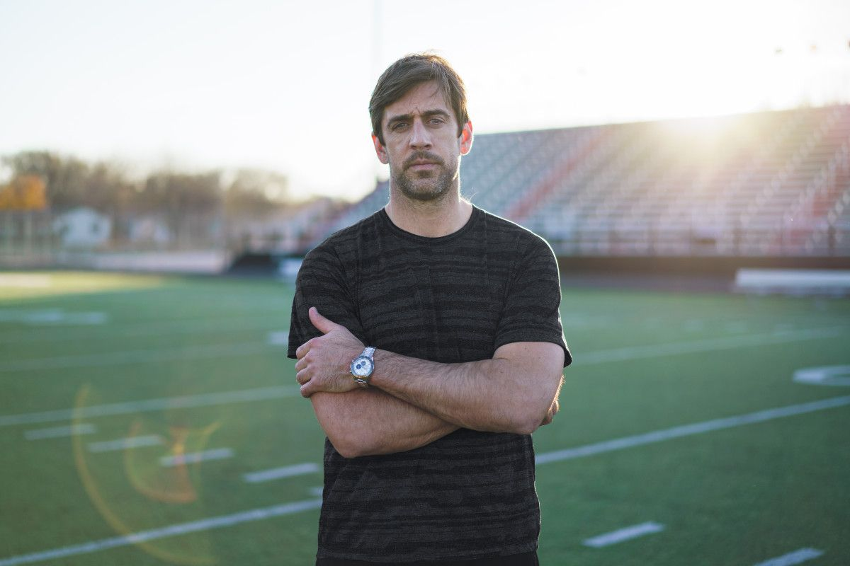 Aaron Rodgers Joins Zenith As Its New Ambassador In North America