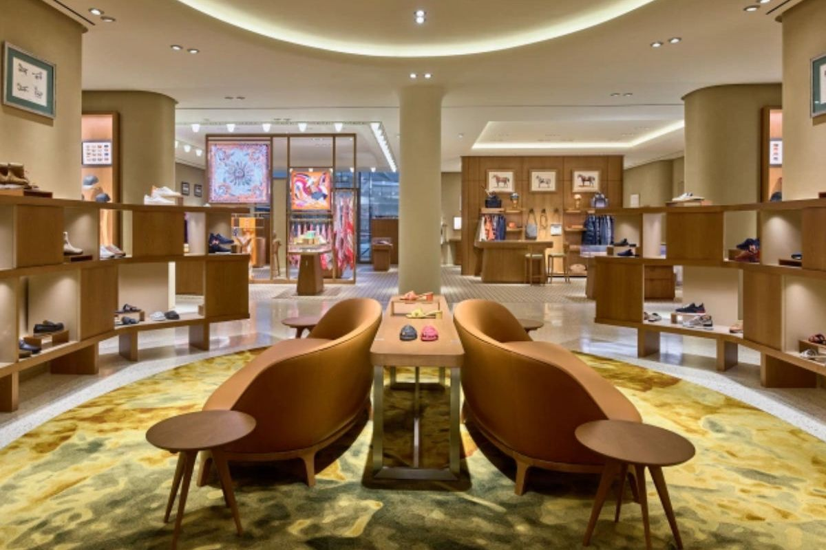 Hermès reopens its doors in the Mall at Short Hills with a new, larger space, reaffirming its commitment to New Jersey