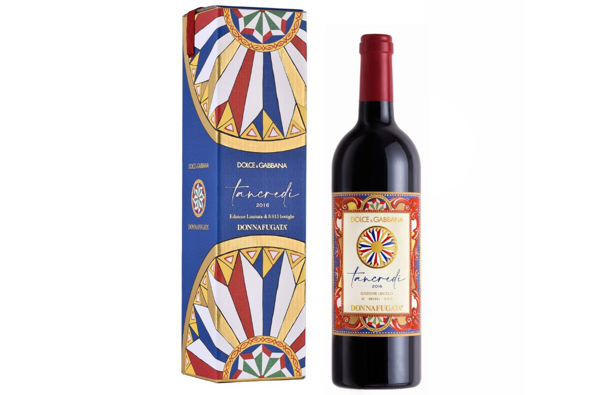 Dolce&Gabbana and Donnafugata: Tancredi 2016 limited and numbered edition