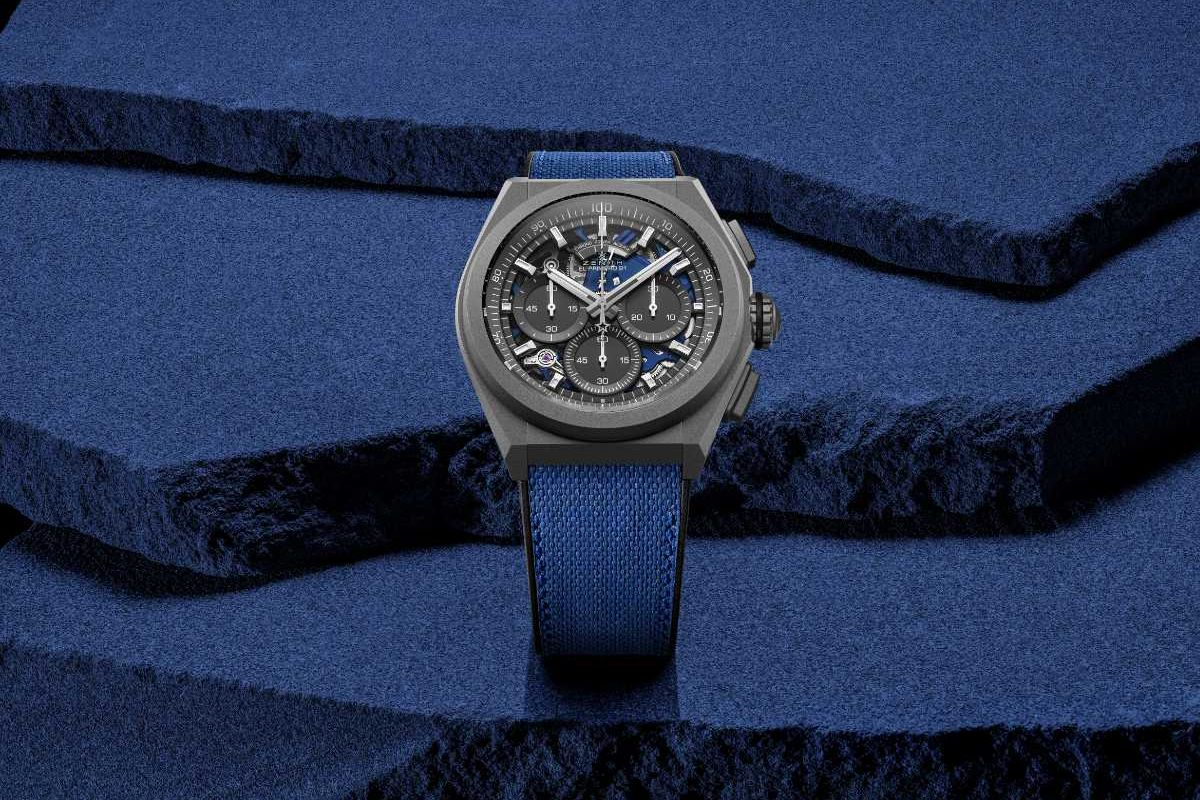 Zenith Explores Frequencies Of Light And Movement With The DEFY 21 Ultrablue