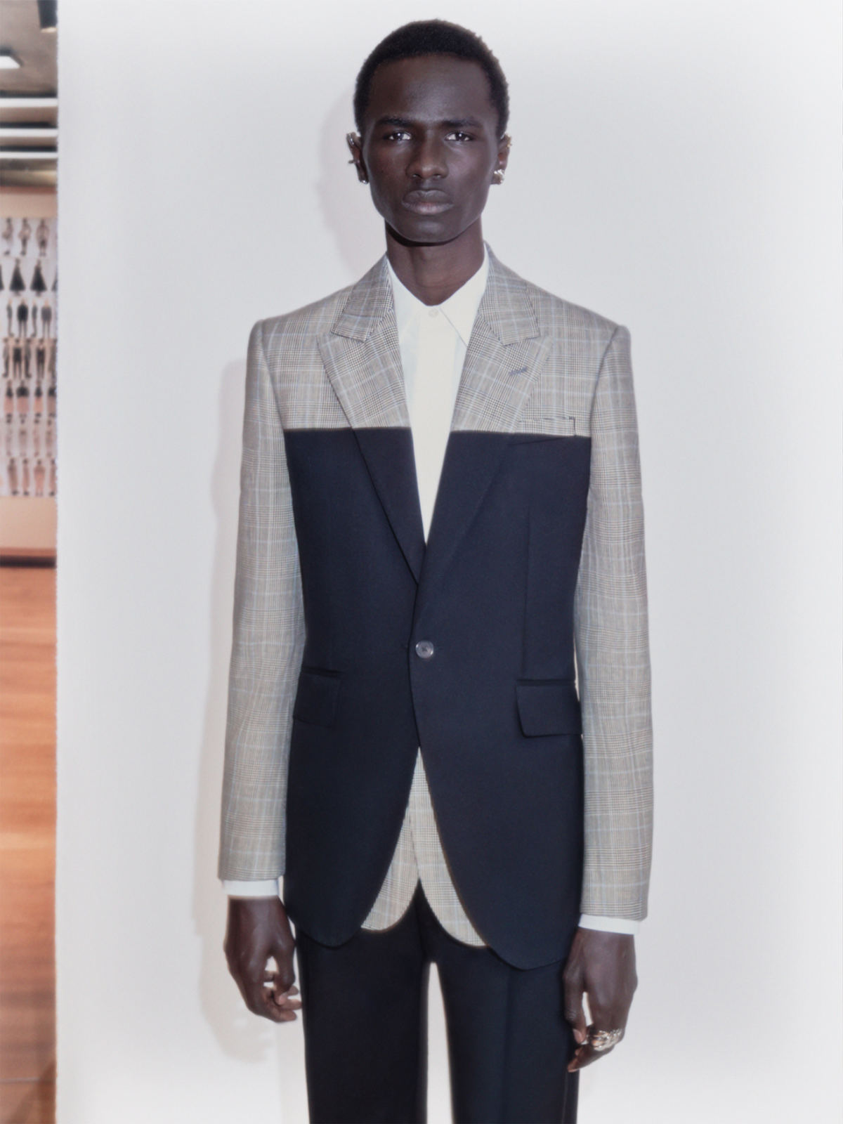 Alexander McQueen's New Season Tailoring Is Stripped To The Bone